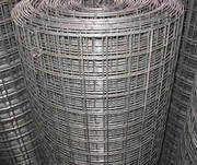 Welded wire mesh with low carbon galvanized and black welded mesh