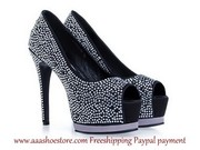 Gianmarco Lorenzi Collector Embellished Shoe Black silk-covered