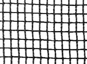 Debris netting used in construction for protection