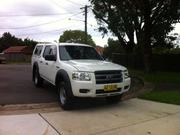 Ford Ranger 2008 Ford Ranger PK XL (4x2) White Automatic 5sp D