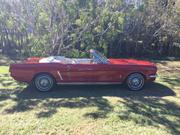 FORD MUSTANG 1965 Ford Mustang Convertible