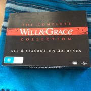 Will and Grace complete 8 season set