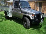 2004 TOYOTA 2004 Toyota Landcruiser Manual 4x4