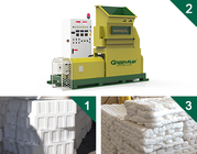 EPS/EPE/PSP/EPP/XPS melting machine of GREENMAX MARS SERIES
