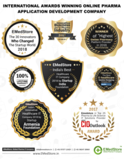 International Awards Winning Online Pharma Application Development Com